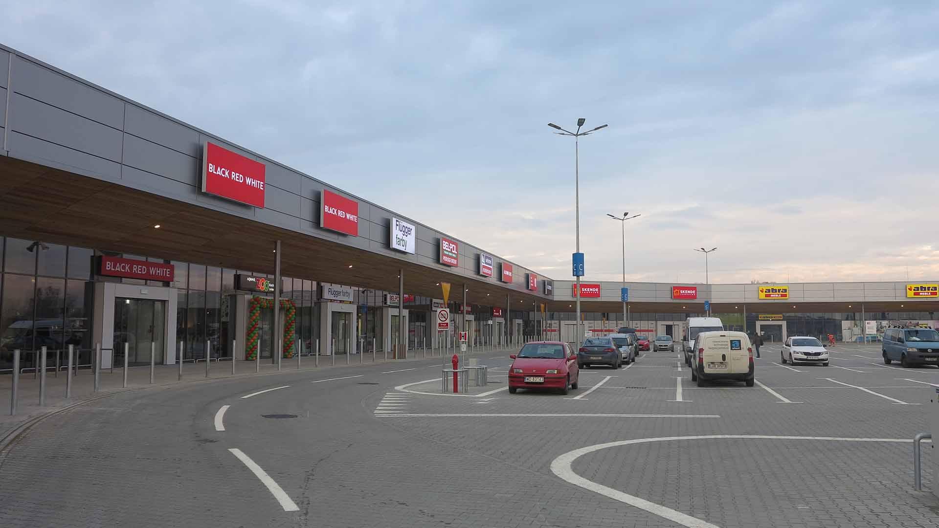Centrum handlowo-usługowe Skende