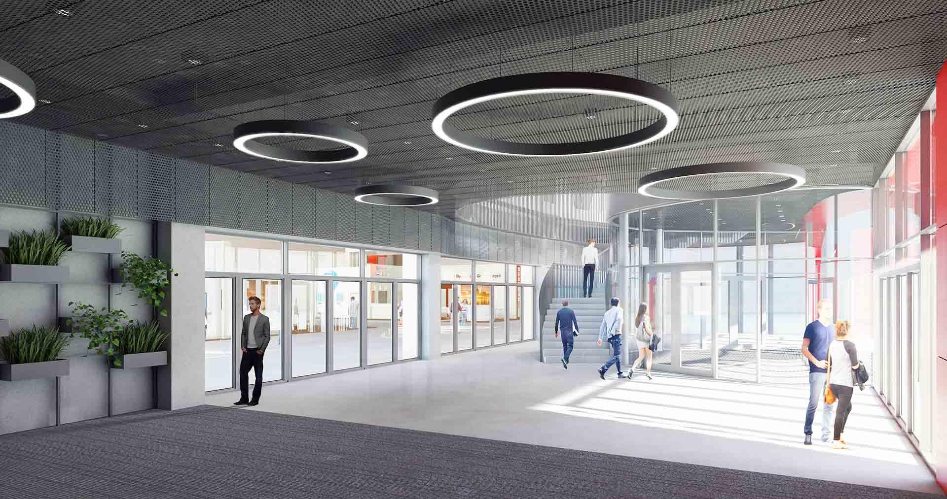 Rozbudowa i modernizacja kompleksu wystawienniczego TargiKielceS.A. – wnętrza
