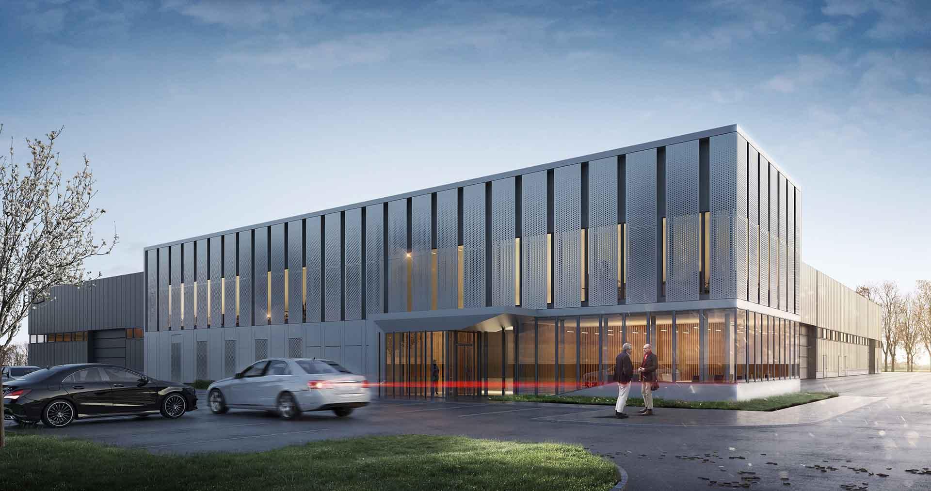 Zakład produkcyjno-biurowy MetalService Center sp. z o.o.