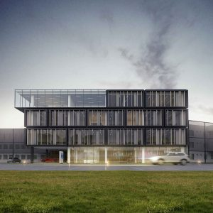 Budynek biurowy firmy OKNOPLAST
