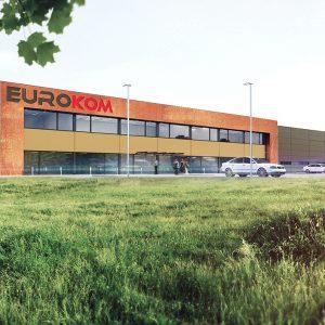 Kompleks produkcyjno-biurowy EUROKOM